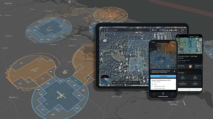 Skyward Integrates Updated LAANC for Night Airspace Access & Refined Grids