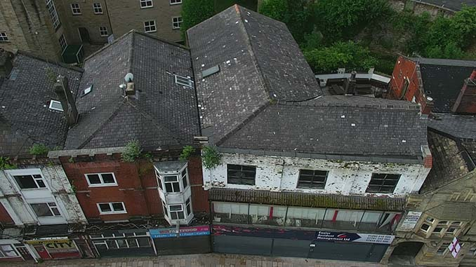 Networx3 UAV is helping to breathe new life into abandoned buildings