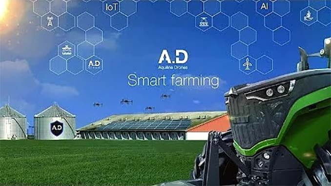 """Empowering Drone Operators to Help Farmers Grow Profits with """"Smart Farming"""" Technology"""